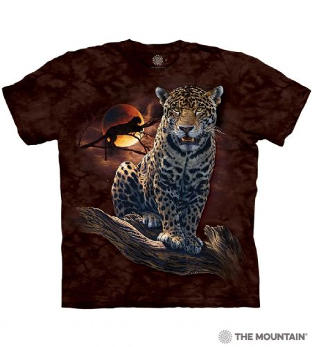 Blood Moon Leopard T-shirt | The Mountain®